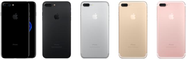 iPhone 7 pořídíte v 5 variantách