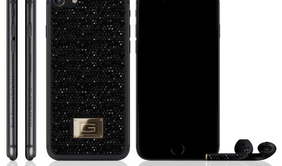 iPhone 7 v luxusní edici: Titan, zlato a černé diamanty za 12 milionů korun