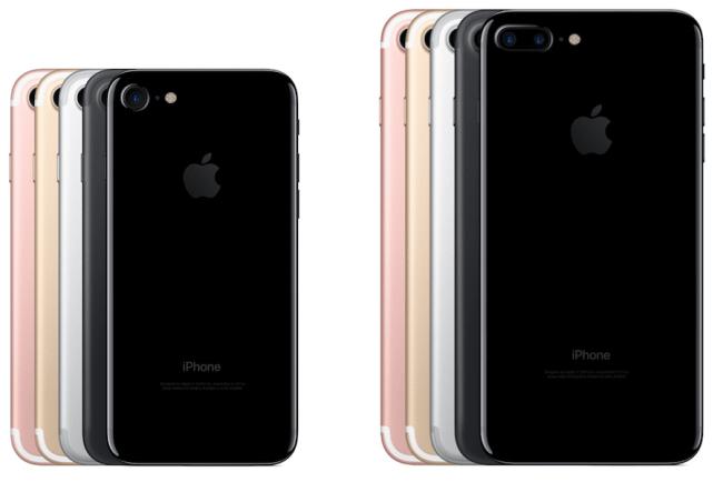 iPhone 7 a iPhone 7 Plus v pěti barevných variantách