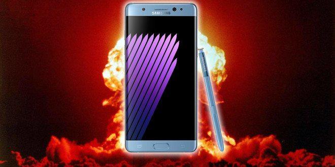 Galaxy Note7 a další problémy: Vybuchující baterie vystřídaly problémy svybíjením a přehříváním