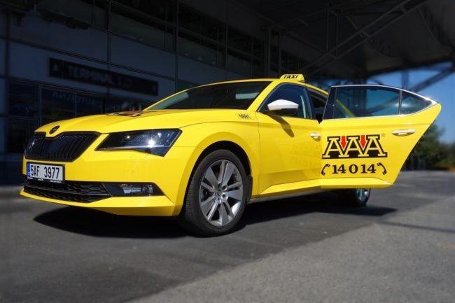 Flotila AAA Taxi – ve všech vozech kdispozici Wi-Fi zdarma