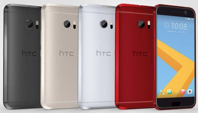 HTC 10 barevné varianty