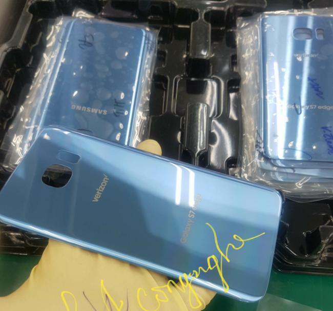 Galaxy S7 Blue Coral