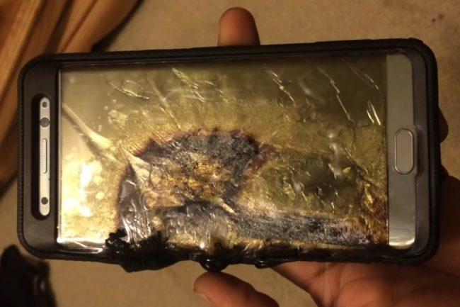 Galaxy Note7 po explozi