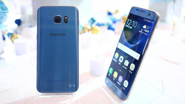 Samsung Galaxy S7 edge Blue Coral na oficiálním renderu. V lednu se tato verze objeví také na českém trhu