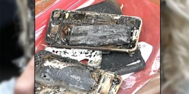 Vznítil se další iPhone 7, zničil téměř celý interiér automobilu