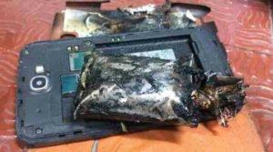 Poškozená baterie u Galaxy Note 2