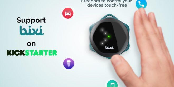 Ovládejte svůj telefon nebo tablet gesty. Na Kickstarter zamířil futuristický gadget Bixi