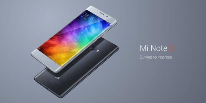 Xiaomi Mi Note 2: zaoblený displej, Snapdragon 821, 6 GB RAM i kompletní LTE