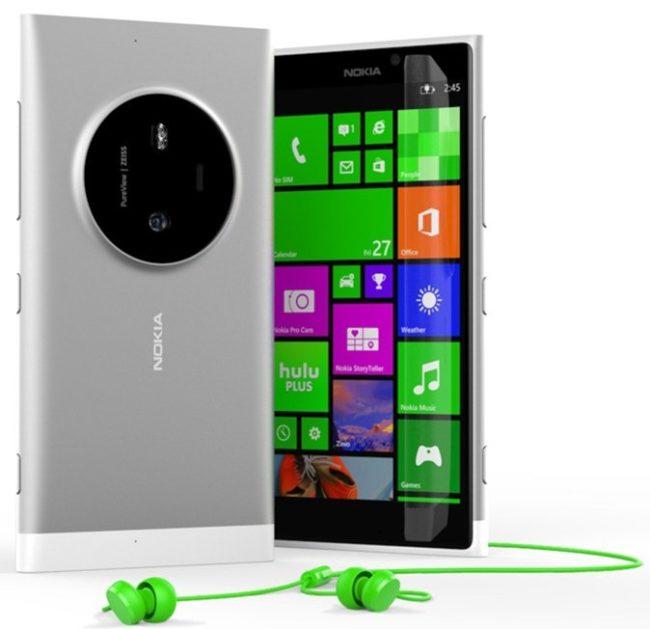 Zrušená Lumia 1030 na oficiálním renderu
