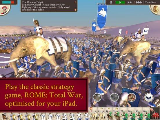 Baví vás strategické hry v reálném čase? Pak bude Rome: Total War přímo pro vás