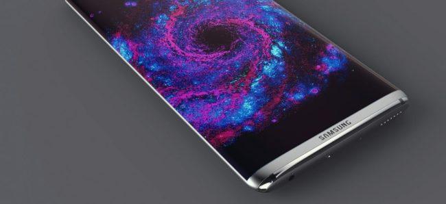 Fanouškovský render Galaxy S8