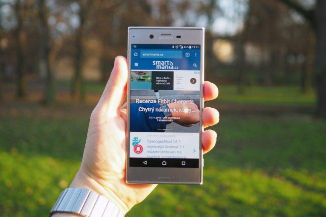 Sony Xperia XZ recenze