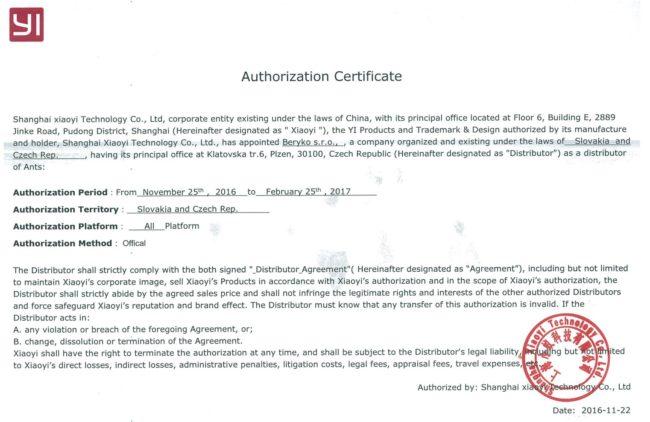 yi_technology_distributor_beryko_certifikat