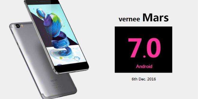 Vernee Mars: první smartphone s čipem Helio P10, který obdrží Android 7.0