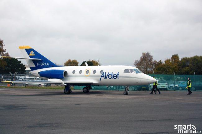 Testovací letadlo EAN