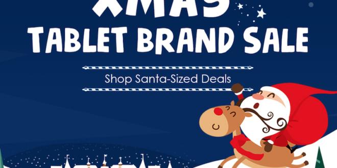Vánoční slevy na GearBest.com: spousta tabletů za lákavé ceny
