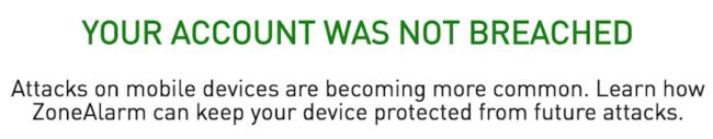 Pokud se vám po vložení vašeho Gmailového účtu do testovacího nástroje zobrazila tato hláška, můžete být v klidu