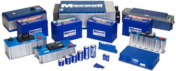 maxwell-supercapacitors