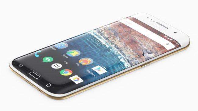 Jeden z fanouškovských konceptů Samsungu Galaxy S8