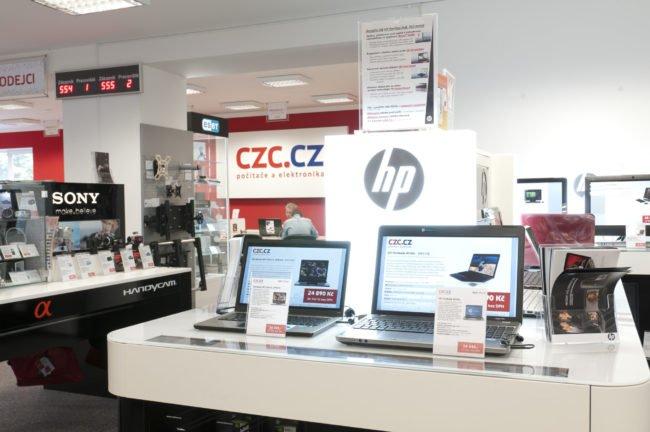 Showroom CZC.cz v Praze – Hájích
