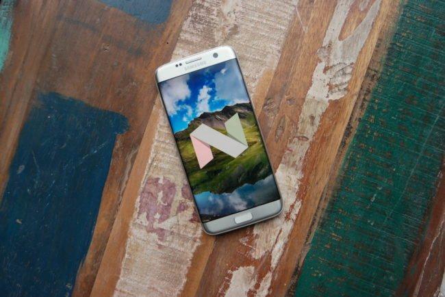 Galaxy S7 (edge) dostává Android 7.0 Nougat