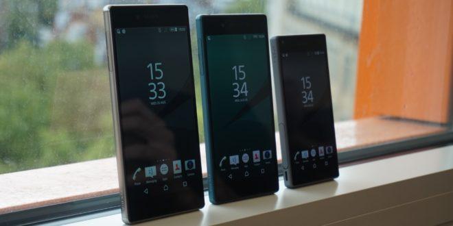 Smartphony řady Xperia Z5 dostávají nugátovou aktualizaci