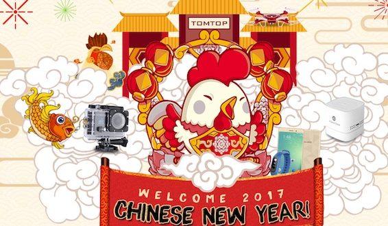 Týden velkých slev při příležitosti čínského nového roku