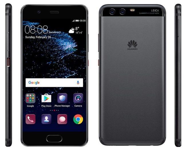 Huawei P10 na oficiálním obrázku