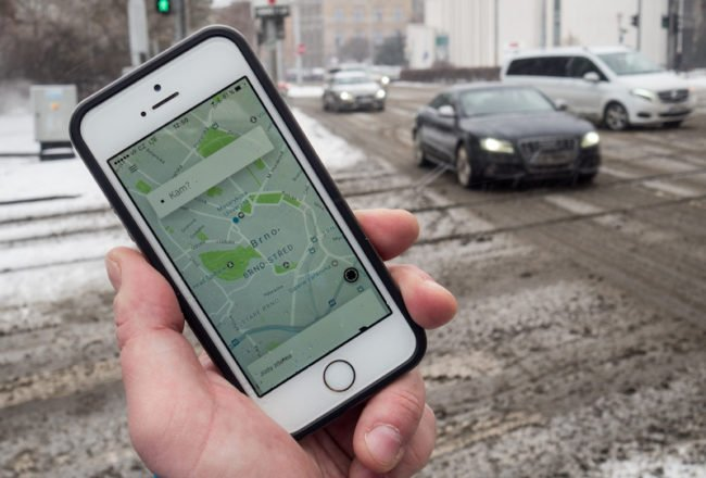 Uber už funguje také v Brně