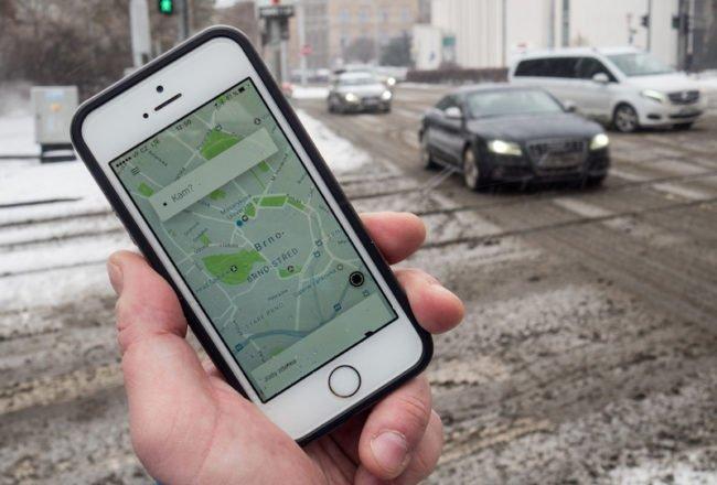 Uber Brno