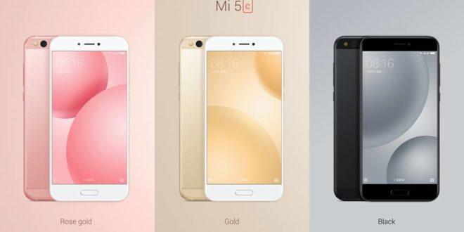 Xiaomi Mi 5c oficiálně: poprvé svlastním procesorem Surge S1