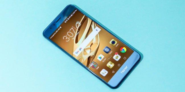 Honor 8 Pro v modré barvě