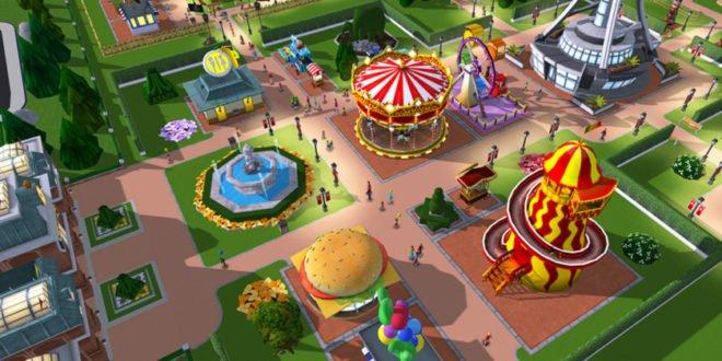 RollerCoaster Tycoon Touch: mobilní zábavní park získal třetí rozměr