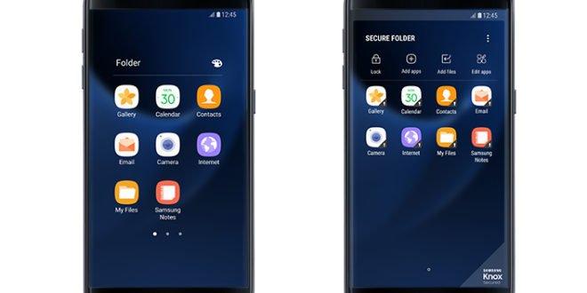 Samsung Galaxy S7 a S7 edge dostávají funkci zabezpečená složka