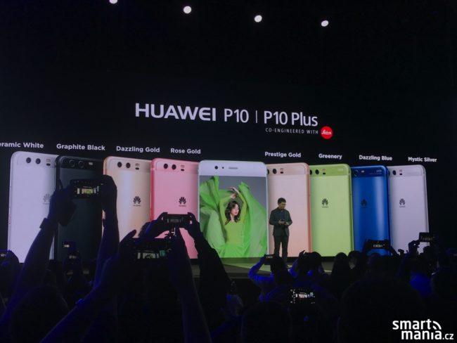 Premiéra Huawei P10