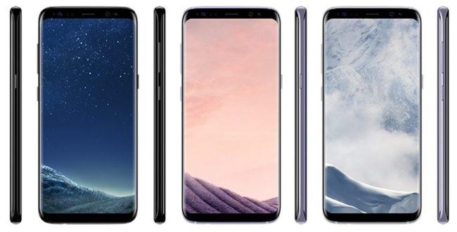 Galaxy S8 na nových renderech