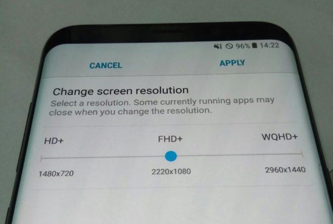 Galaxy S8 kvůli úspoře energie nabídne možnost snížit rozlišení na nižší