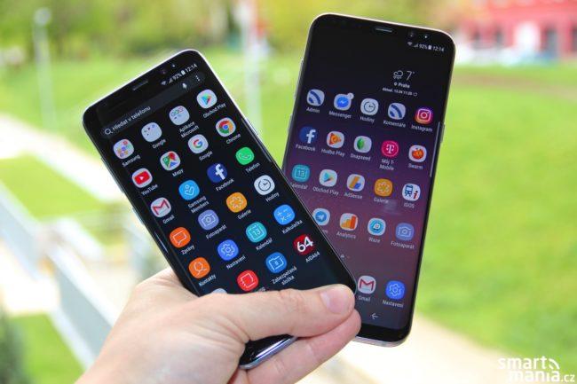 Samsung Galaxy S8 a Galaxy S8+