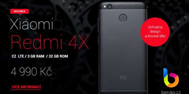 Xiaomi Redmi 4X Global: Úchvatný design a české LTE