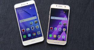 Videorecenze Huawei P9 lite 2017 & srovnání se Samsungem Galaxy A3 2017