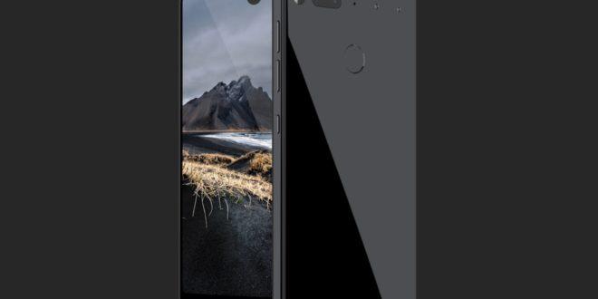 Essential Phone oficiálně: bezrámečkový design, modulární konstrukce a odolné tělo