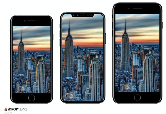 iPhone 7, iPhone 8 a iPhone 7 Plus