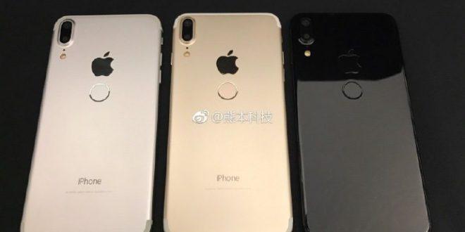iPhone 8 na nových fotkách: tentokráte se čtečkou otisků na zádech