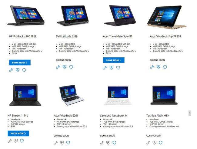 windows-10-s-laptop-lineup