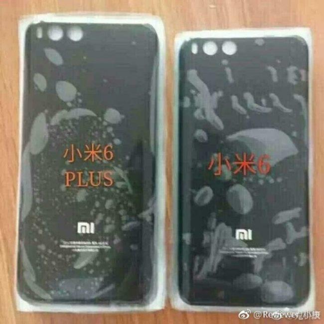 Zadní strana Xiaomi Mi 6 Pro a Mi 6
