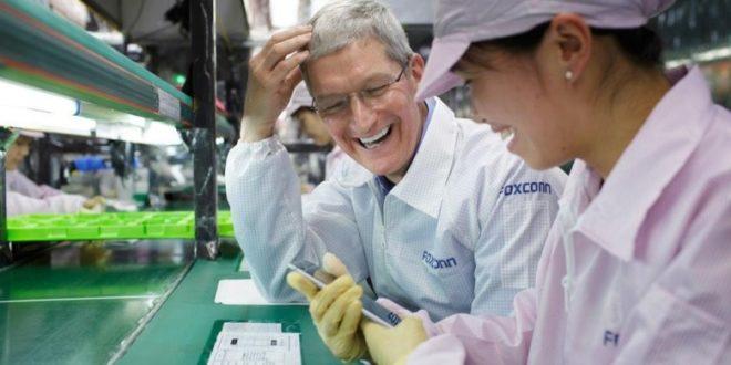 Foxconn je připraven přesunout výrobu iPhonů zČíny, bude-li to nutné