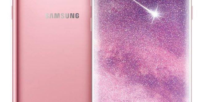 Samsung Galaxy S8+ se oficiálně obléknul do růžové barvy