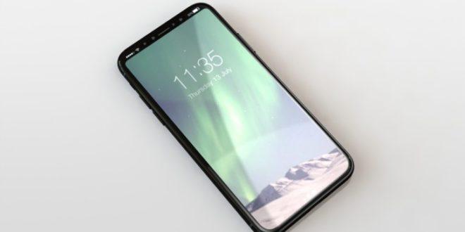 iPhone 8 bude mít čtečku otisků prstů na zamykacím tlačítku, podívejte se na rendery