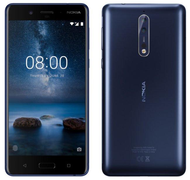 Takto by měla Nokia 8 s duálním fotoaparátem vypadat